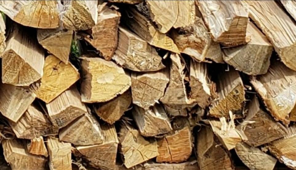 キャンプ 焚き火 薪ストーブ等アウトドアに ナラ 薪 25キロ 焚き付用木屑付き