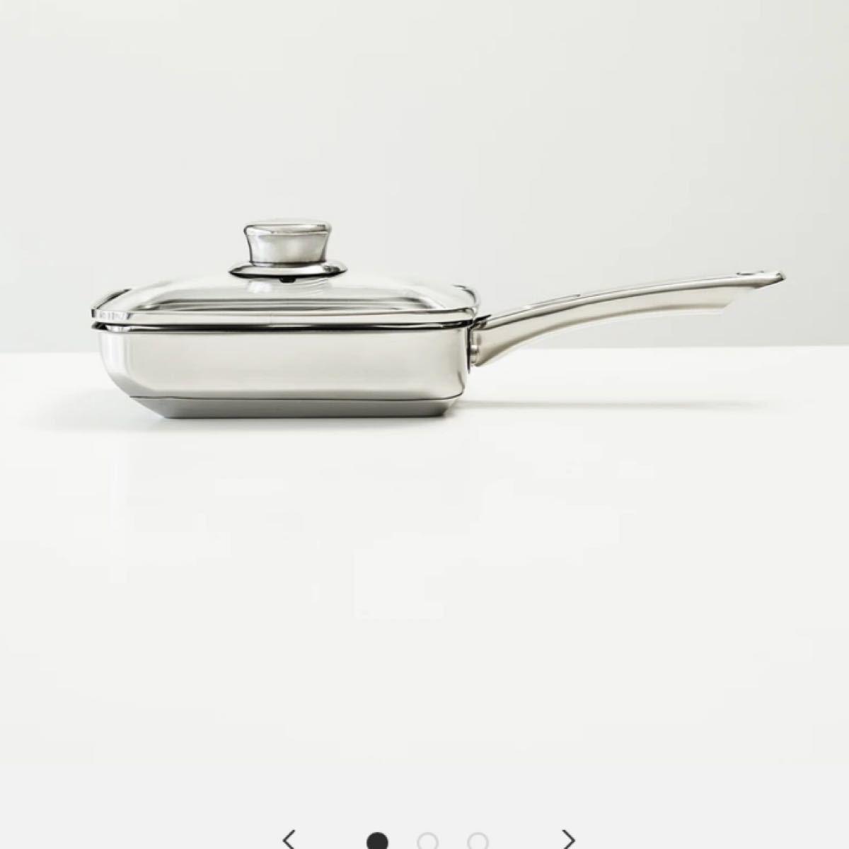 新品未開封 Meyer マイヤーマキシム エスエス 蓋付エッグパン 18cm フライパン IH/ガス対応 ティファール
