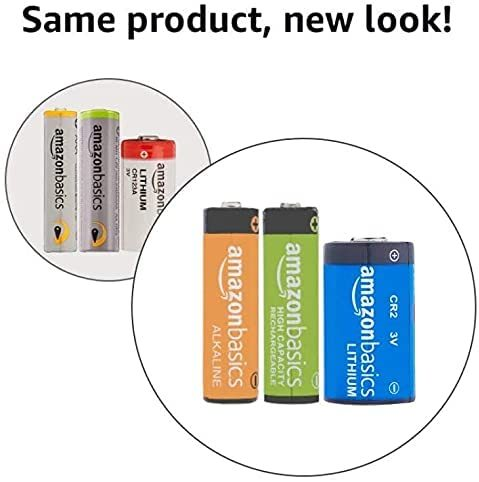 Amazonベーシック 充電池 高容量充電式ニッケル水素電池単3形8個セット (充電済み、最小容量 2400mAh、約500回使用可能)_画像6