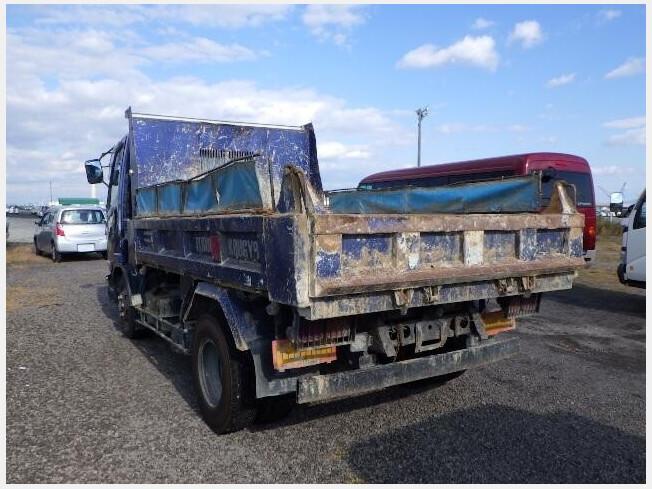 「ダンプ車 三菱ふそう ファイター PA-FK71DC 2004年製 215000km」の画像3