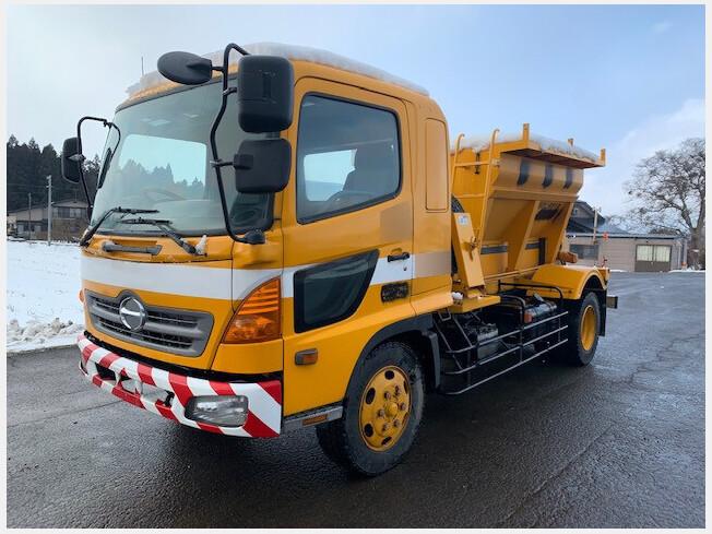 「運搬車両その他 その他メーカー その他/others 2004年製 156733km H16 日野 凍結防止剤散布車 ( MS」の画像3