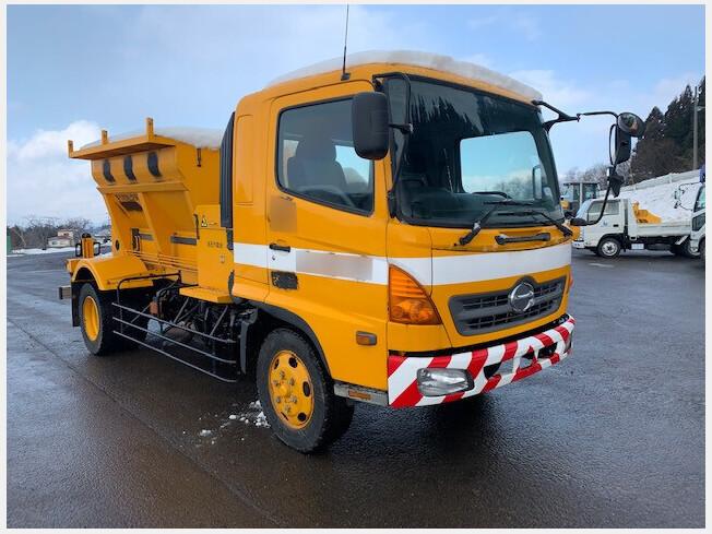 「運搬車両その他 その他メーカー その他/others 2004年製 156733km H16 日野 凍結防止剤散布車 ( MS」の画像1