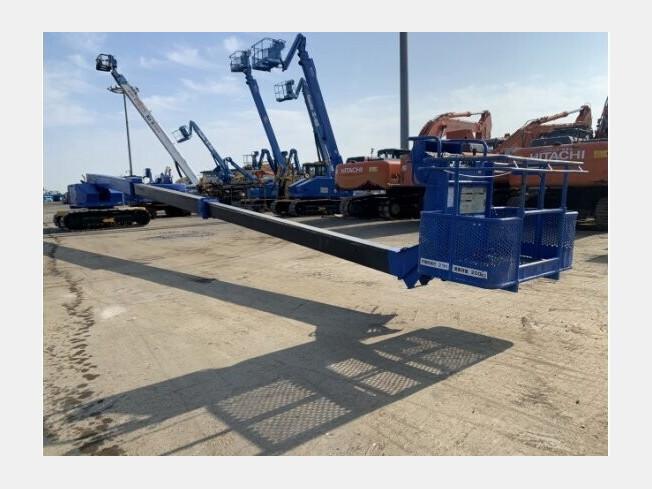 「高所作業車 アイチコーポレーション SR21A 2006年製 21m仕様 ※クローラ仕様GPAD ※最大積載荷重200kg」の画像2