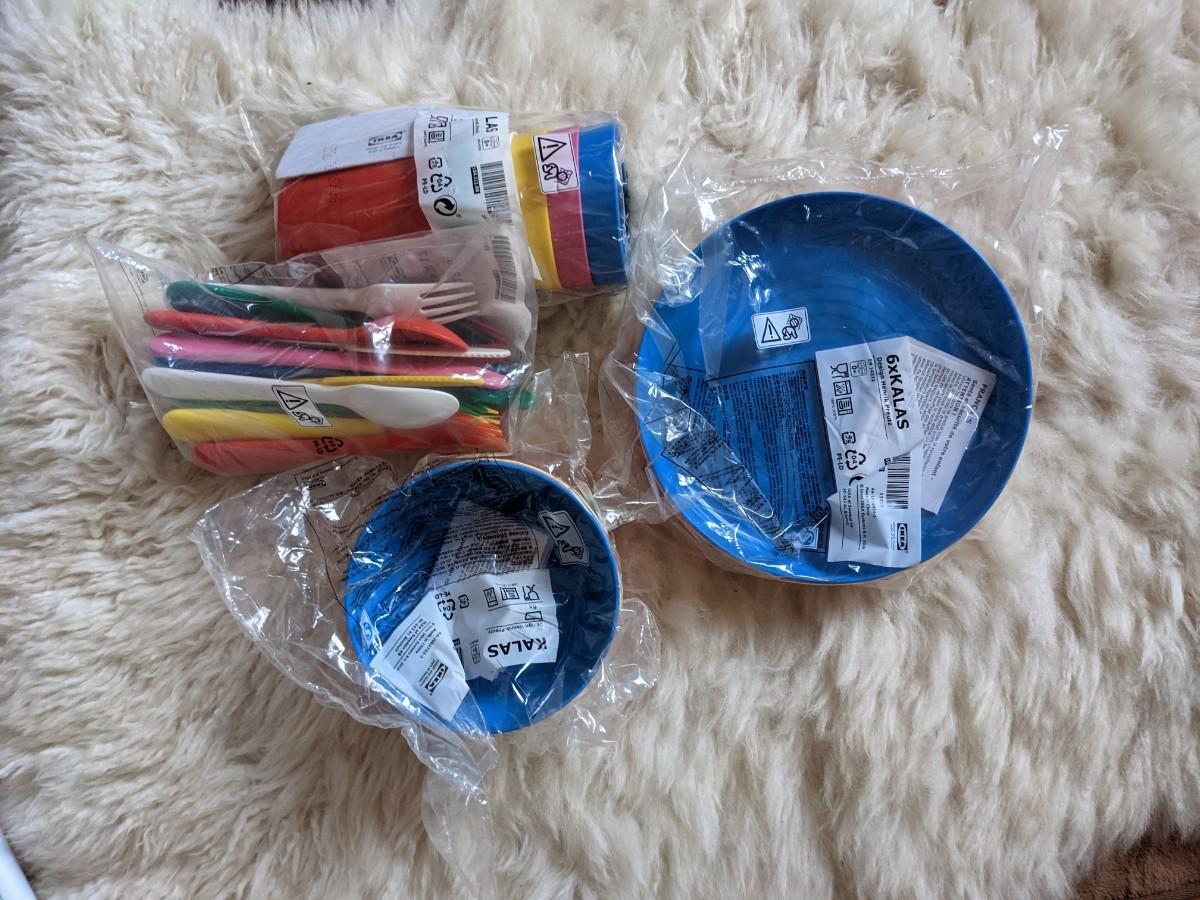 IKEA キャンプ用品セットアウトドア【新品】おまけ有ります