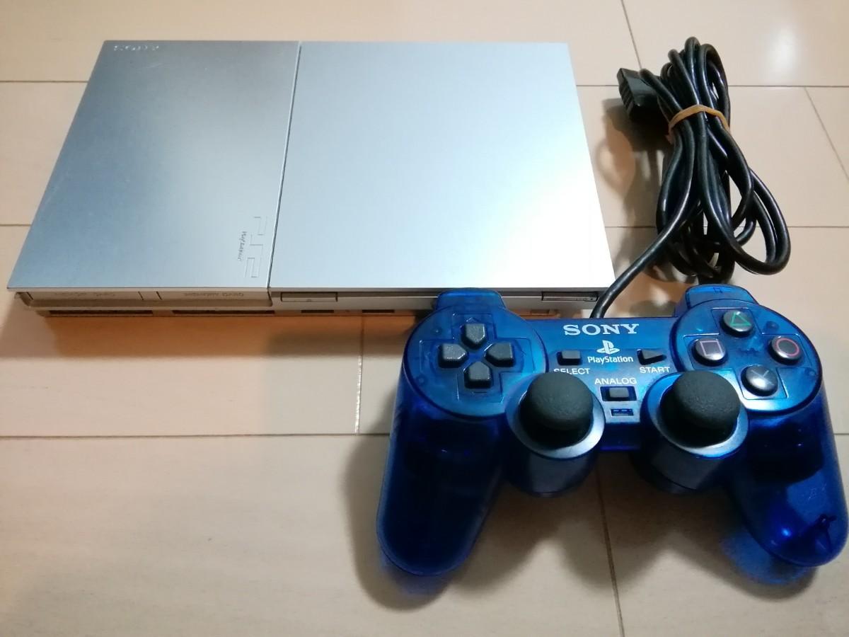 PS2 SCPH-90000 サテンシルバー プレイステーション2 SONY