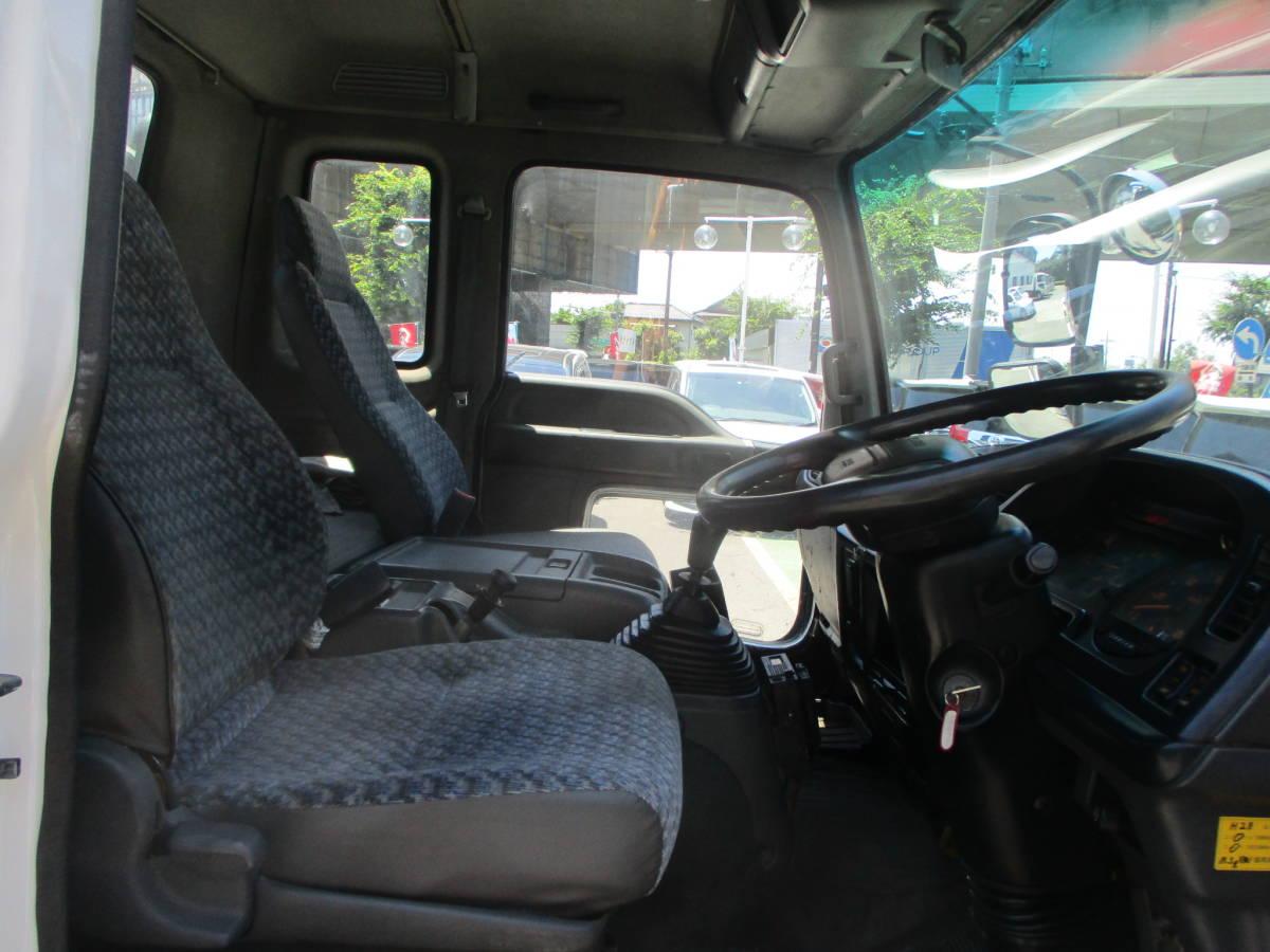 「即決13年10月フォワード脱着装置付きコンテナ専用車(アームロール)増トン仕様7.8t積・フジマイティ・車検4/3・NOX適合」の画像3