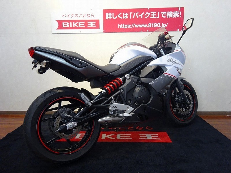 「Ninja400R 【Special Editionフェンダーレス・E/Gスライダー等カスタム多数】」の画像3