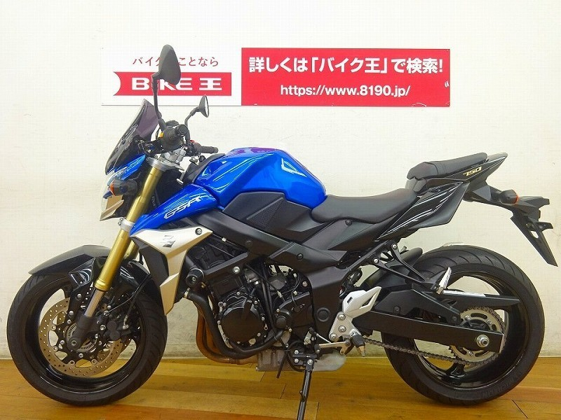 「GSR750 ABS ショートスクリーン&エンジンスライダー装備 」の画像3