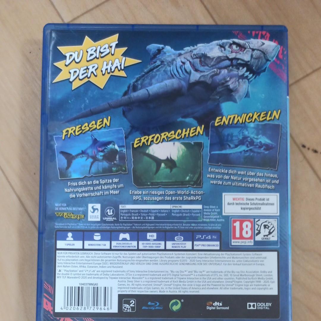 PS4 マンイーター 北米版