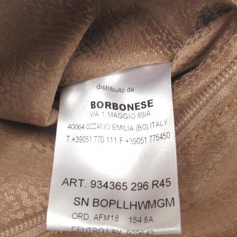 未使用品 ボルボネーゼ BORBONESE ショルダー バッグ ハンド 2WAY うずら柄 紺 ネイビー 鞄 レディース_画像7