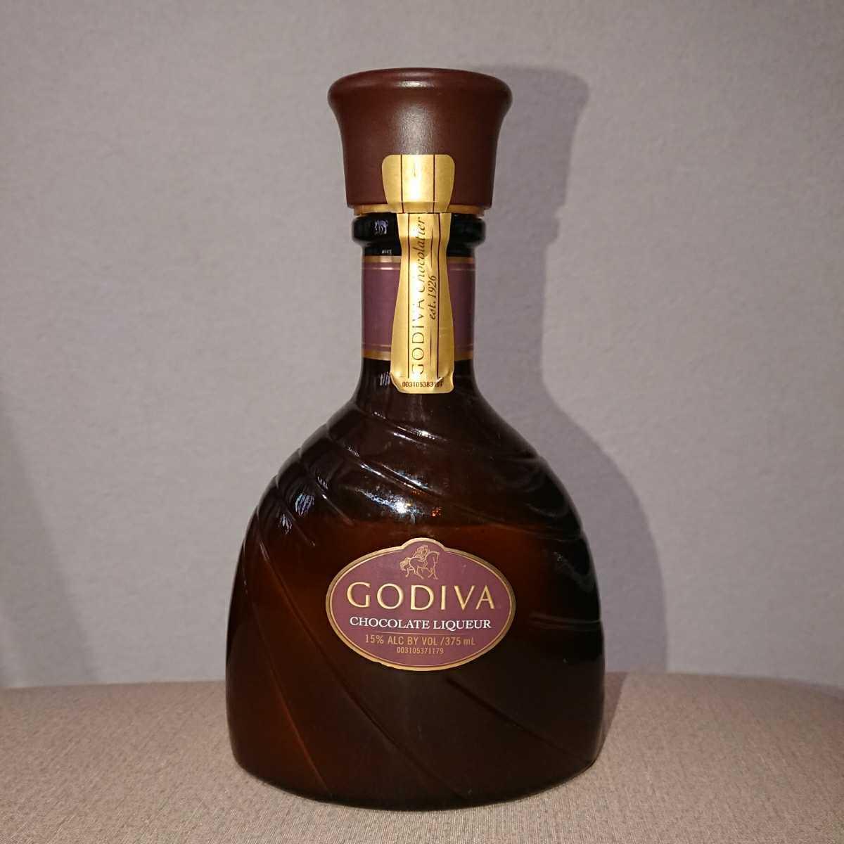 【送料無料】GODIVA ゴディバ チョコレートリキュール 箱無し 開封済 残量約半分_画像1