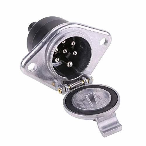 JSTwig 03 JSTwig 7極 トレーラー 7ピン 電極配線 接合カプラー コネクター ヒッチ ソケット セット_画像4