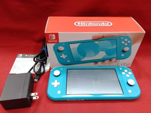 【初期化済み】Nintendo Switch Lite ターコイズ 【一部傷汚れあり】ニンテンドースイッチライト本体_画像1