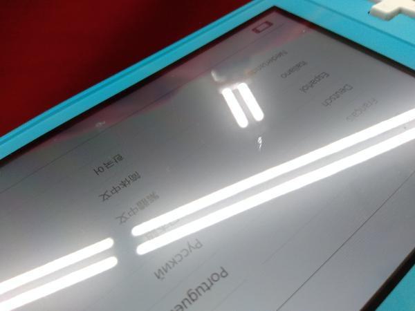 【初期化済み】Nintendo Switch Lite ターコイズ 【一部傷汚れあり】ニンテンドースイッチライト本体_画像5