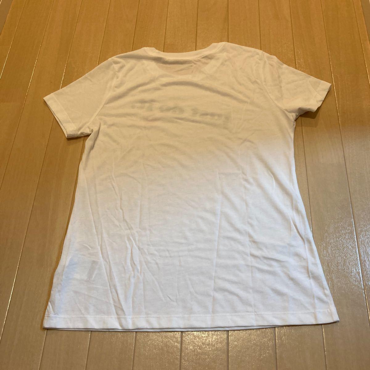 NIKE  ナイキ トップス 半袖Tシャツ just do it レディース Mサイズ