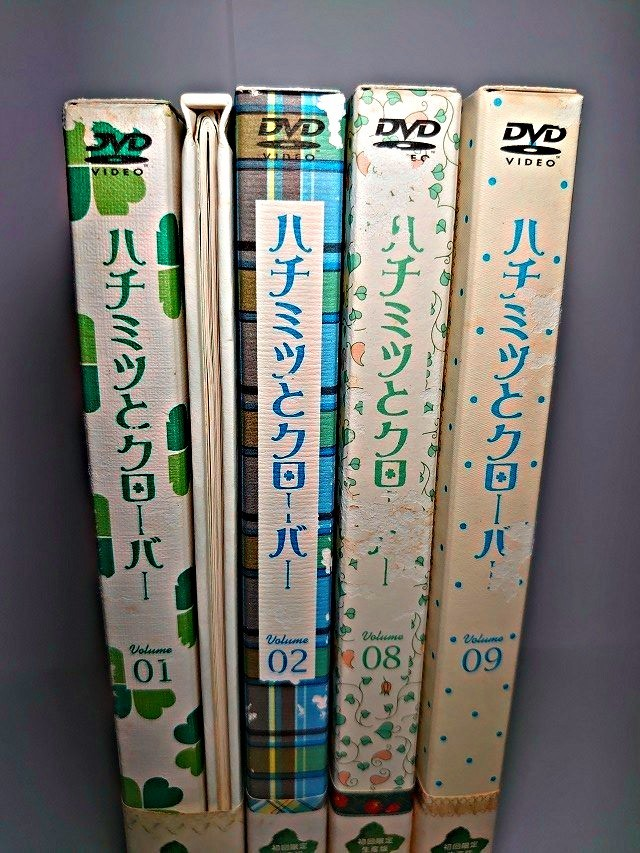 アニメDVD 初回限定盤 ハチミツとクローバー シーズン1&2