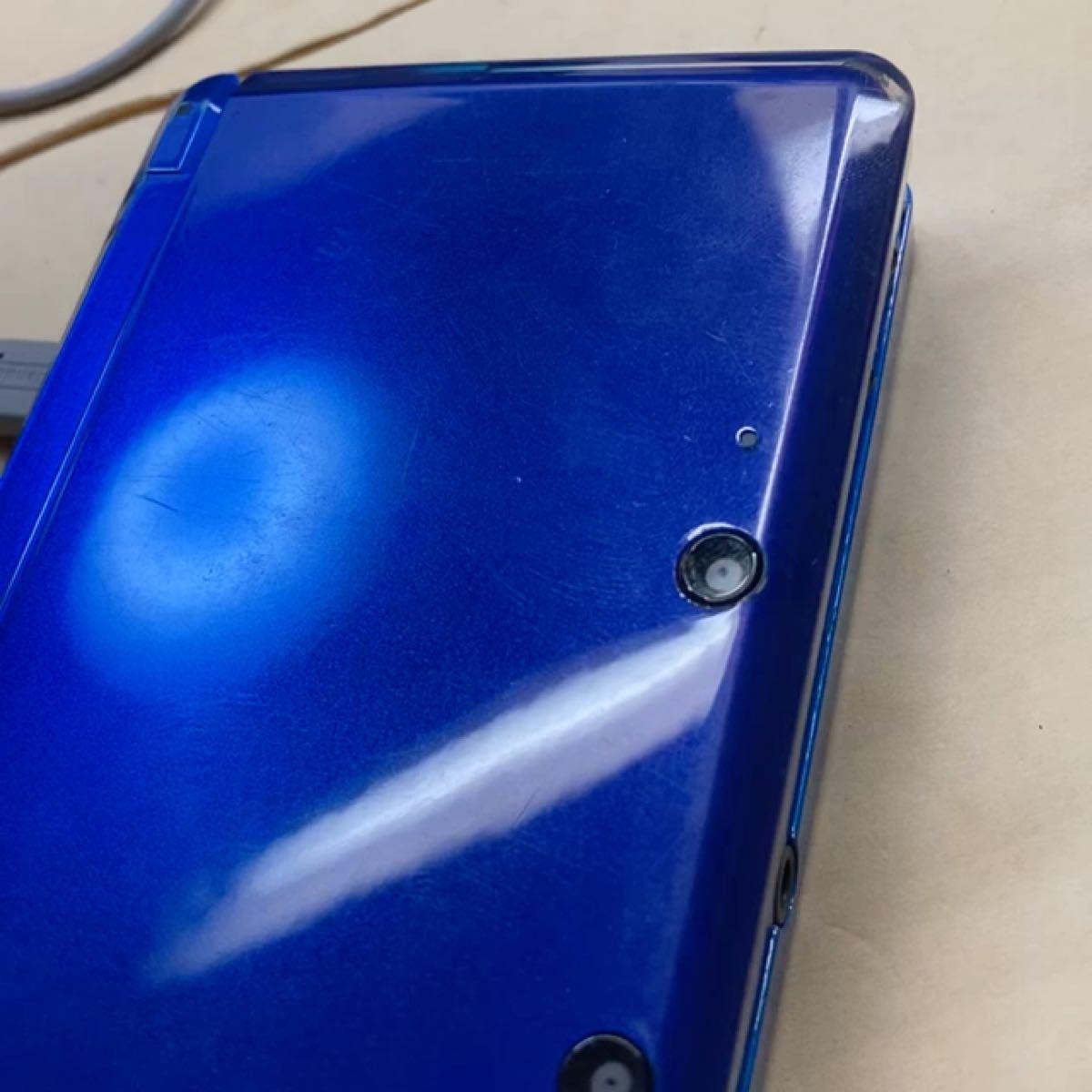 ニンテンドー3DS 本体コバルトブルー ジャンク