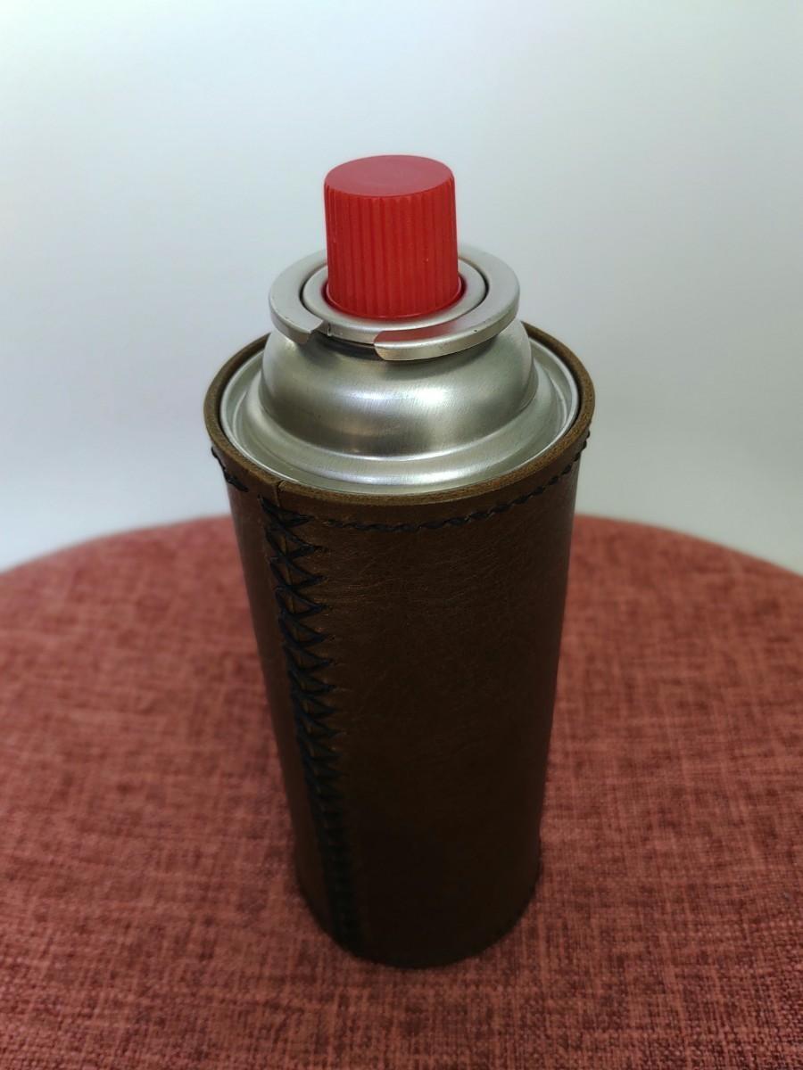 CB缶カバー(ガス缶カバー) ヌメ革  オイルレザー