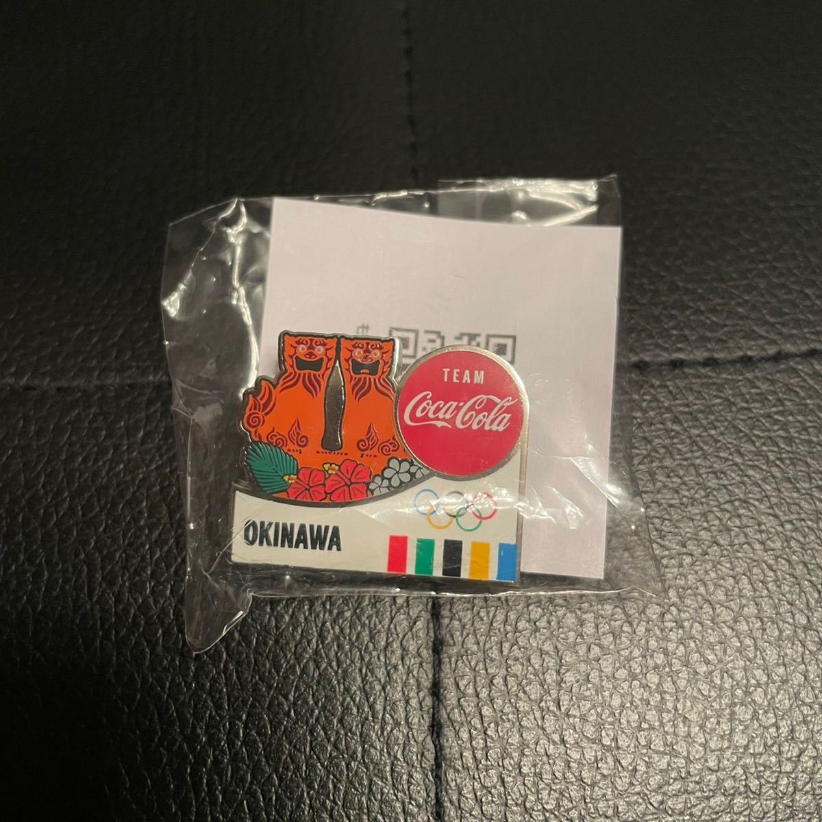 東京オリンピック 2020 コカコーラ ピンバッチ/OKINAWA 沖縄県