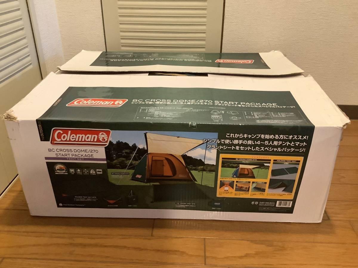 Coleman コールマン BCクロスドーム / 270 スタートパッケージ / テント グランドシート