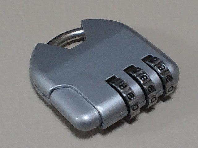 ◆ダイヤル錠 ◆新品未使用品◆_画像1