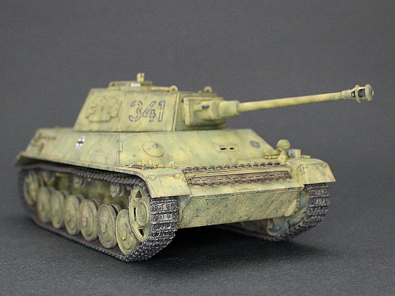 ■完成品■ホビーボス 1/35 統制型車台 Ⅲ/Ⅳ号戦車_画像2