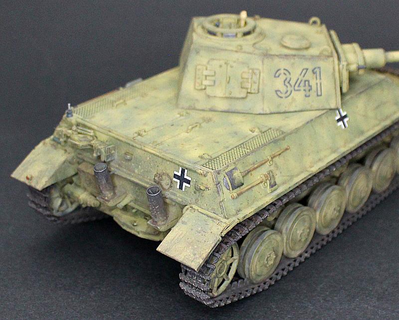 ■完成品■ホビーボス 1/35 統制型車台 Ⅲ/Ⅳ号戦車_画像8