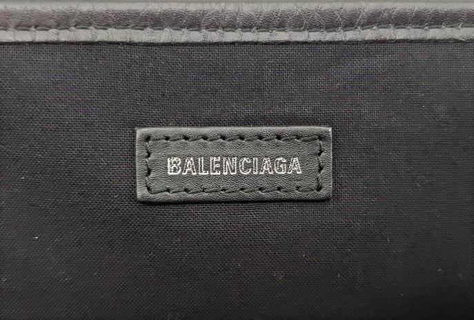 未使用品!BALENCIAGA【バレンシアガ】581292 NAVY CABAS/ネイビーカバス Mサイズ ハンドバッグ/トートバッグ (3255)_画像9
