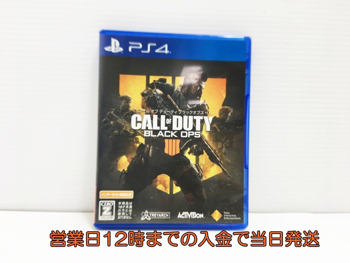 PS4 コール オブ デューティ ブラックオプス 4【CEROレーティング「Z」】 状態良好 ゲームソフト 1A0603-075sy/G1_画像1