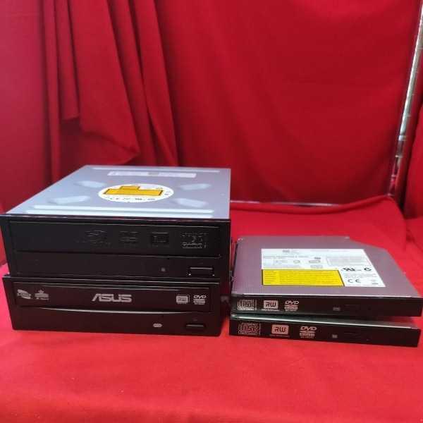 Blu-ray/DVD/CDドライブ 種類混在4セット