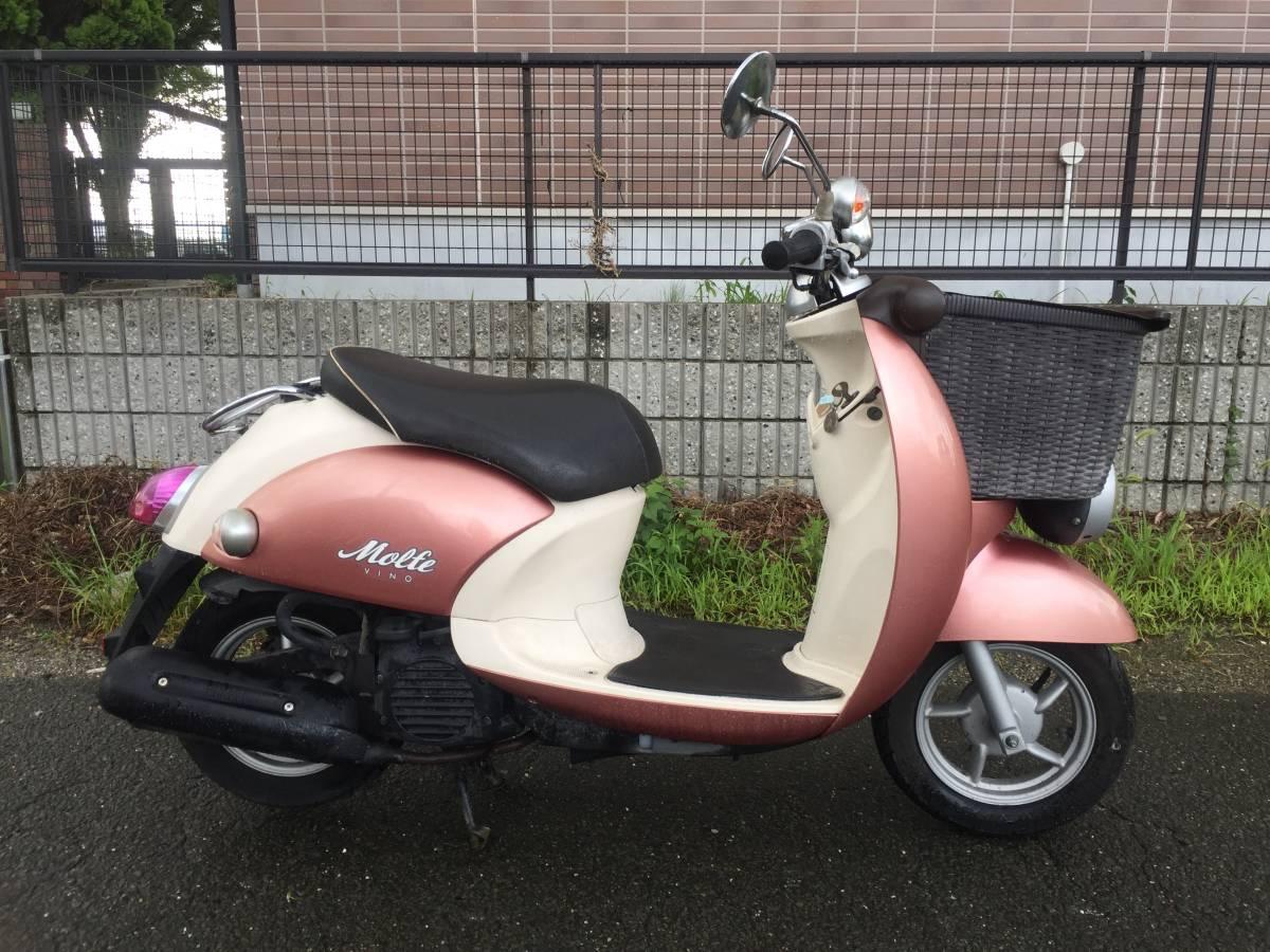 「★愛知県★ ビーノ モルフェ FI SA37J-171~  実働 現状 可愛いバイク( ´`)♪ ジョルノ トゥデイ ビーノ レッツ」の画像2