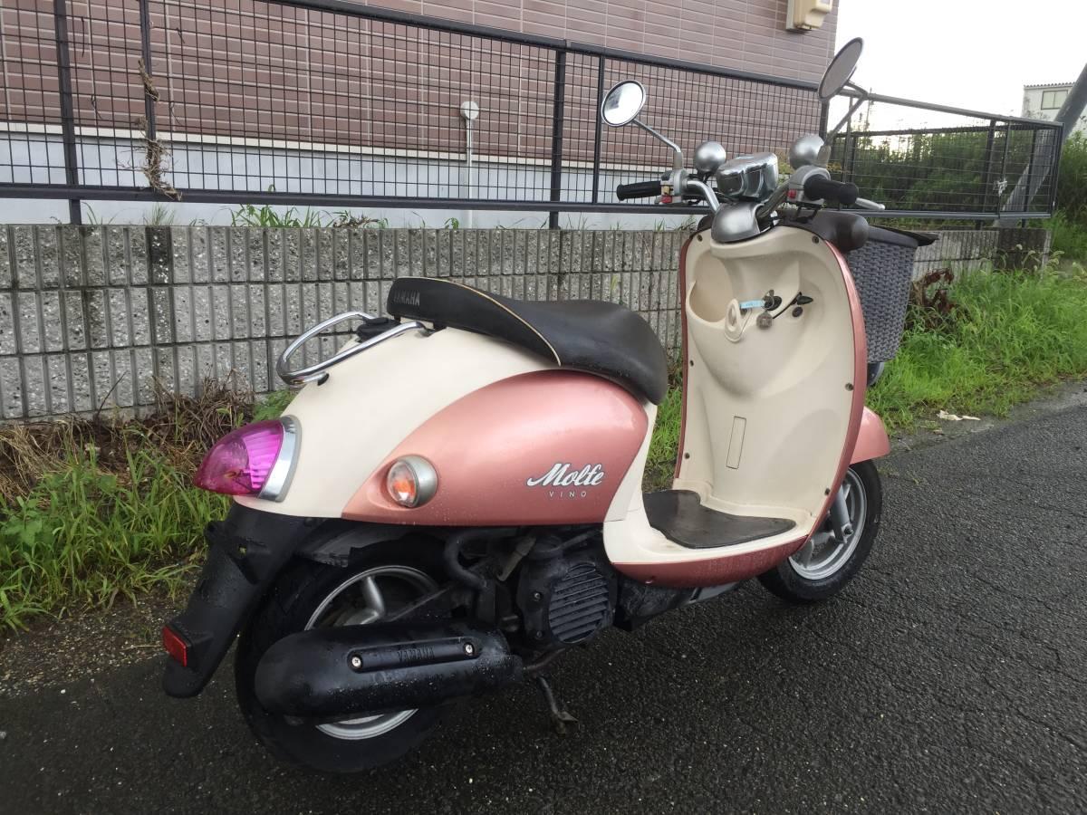 「★愛知県★ ビーノ モルフェ FI SA37J-171~  実働 現状 可愛いバイク( ´`)♪ ジョルノ トゥデイ ビーノ レッツ」の画像3