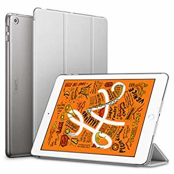ESR iPad Mini 5 2019 ケース 軽量 薄型 PU レザー スマート カバー マ衝撃 傷防止 クリア ハード_画像1