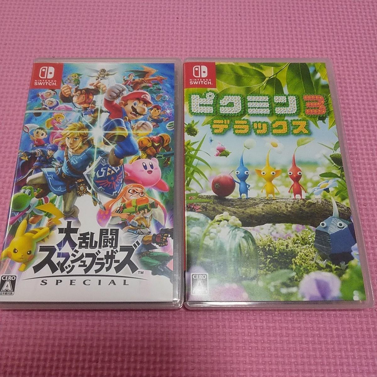 Nintendo Switch 大乱闘スマッシュブラザーズSPECIAL ピクミン3デラックス  ピクミン3DX スマブラ