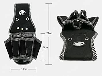 Bタイプ 工具用ウエストバッグ 大工 電工用 作業効率の良い機能設計 工具差し 工具袋 ポーチ腰袋 ベルトポーチ ツールバッグ_画像2