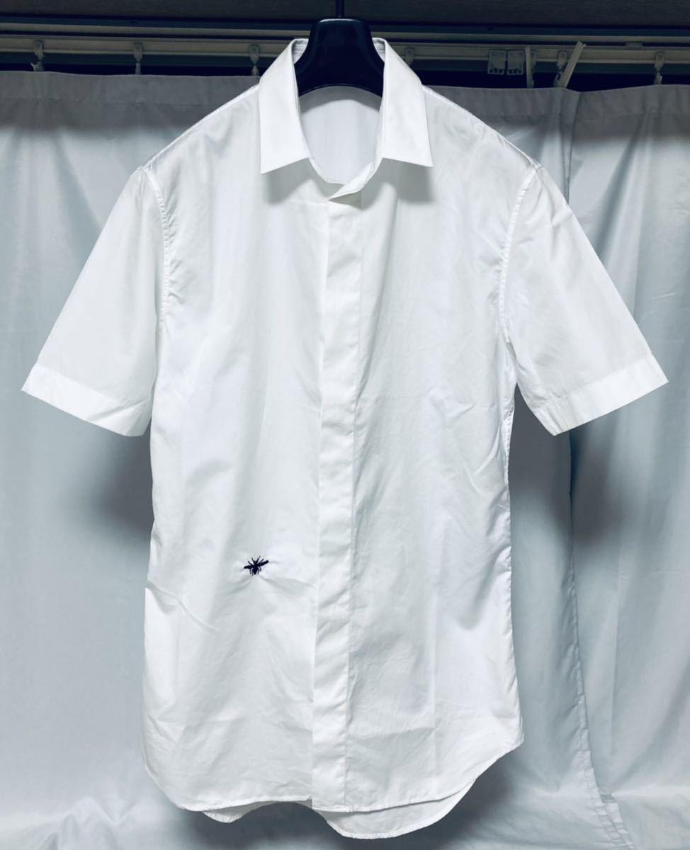 新品 同様 Dior homme ディオールオム 半袖 シャツ ホワイト Tシャツ クリスヴァンアッシュ ベルルッティ Berluti men