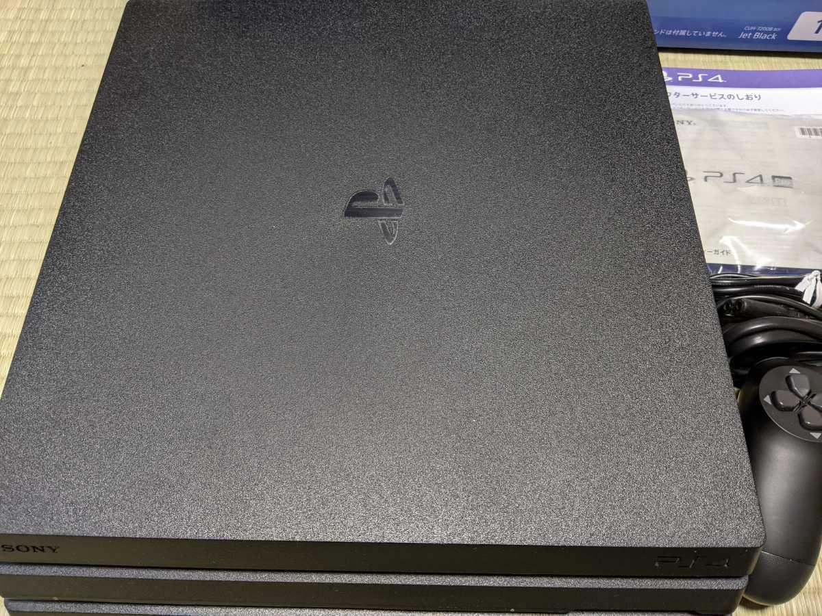 SONY PlayStation 4 Pro PS4 Pro 1TB ジェットブラック