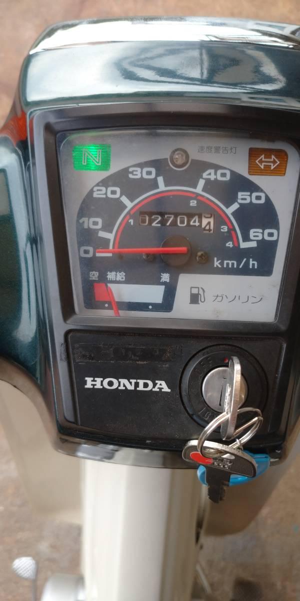 「美車 スーパーカブ C50CMV 1996年式 2704Km低走行車 熊本県山鹿市」の画像2