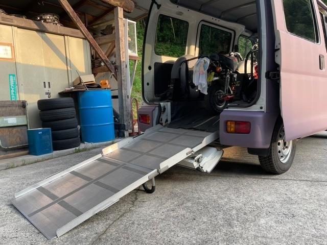 「ハイゼット 4WD ATスローパー モンキー・ラビットなど 運搬・保管・トランポに 車検 5年7月まで」の画像3