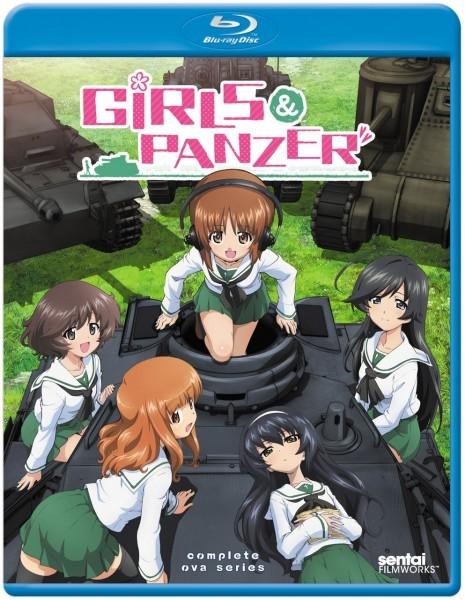 【送料込】2点セット ガールズ&パンツァー 全12話 & OVA 全6話(北米版ブルーレイ) Girls Und Panzer TV & OVA Series blu-ray BD