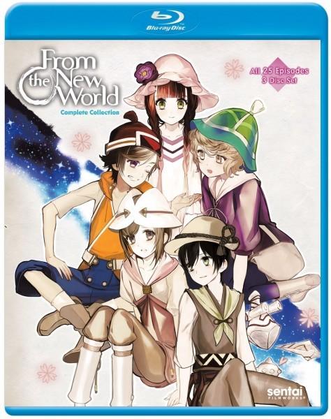 【送料込】新世界より 全25話 (北米版 ブルーレイ) From the New World blu-ray BD