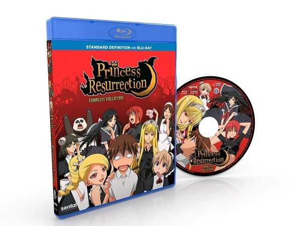 【送料込】怪物王女 全26話(北米版 ブルーレイ) Princess Resurrection blu-ray BD