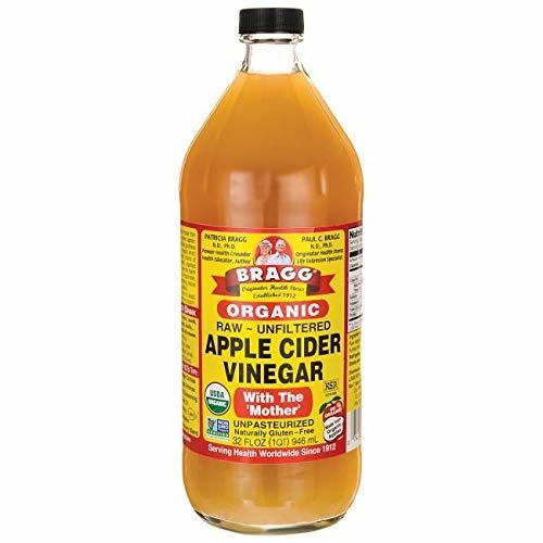 1個 Bragg オーガニック アップルサイダービネガー 【日本正規品】りんご酢 946ml_画像1