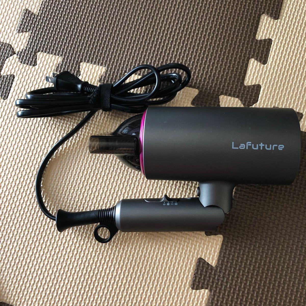 ドライヤー Lafuture 大風量 速乾 ナノケア ヘアドライヤー 折りたたみ式 マイナスイオン ヘアケア  髪質改善