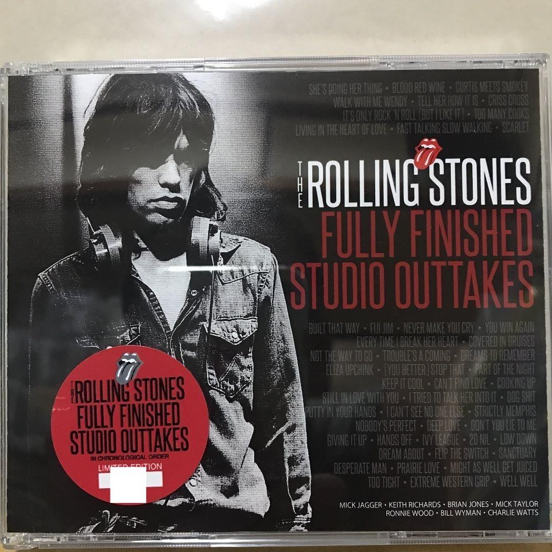 ローリングストーンズ The Rolling Stones FULLY FINISHED STUDIO OUTTAKES 3CD