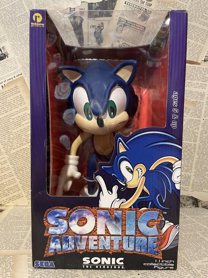 ☆1990年代/Sonic Adventure/フィギュア/ソニック・ザ・ヘッジホッグ/ソニックアドベンチャー/未開封ビンテージ即決USAレア☆_画像1