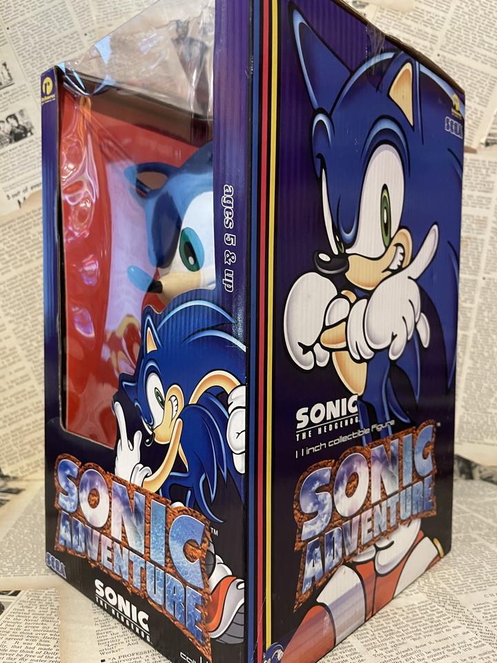 ☆1990年代/Sonic Adventure/フィギュア/ソニック・ザ・ヘッジホッグ/ソニックアドベンチャー/未開封ビンテージ即決USAレア☆_画像3