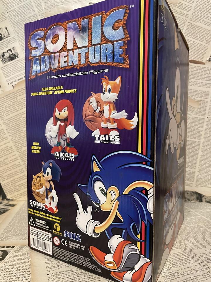 ☆1990年代/Sonic Adventure/フィギュア/ソニック・ザ・ヘッジホッグ/ソニックアドベンチャー/未開封ビンテージ即決USAレア☆_画像4