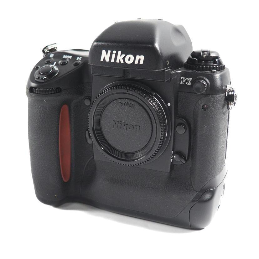 1円【ジャンク】Nikon ニコン/フィルムカメラ ボディ/F5/79