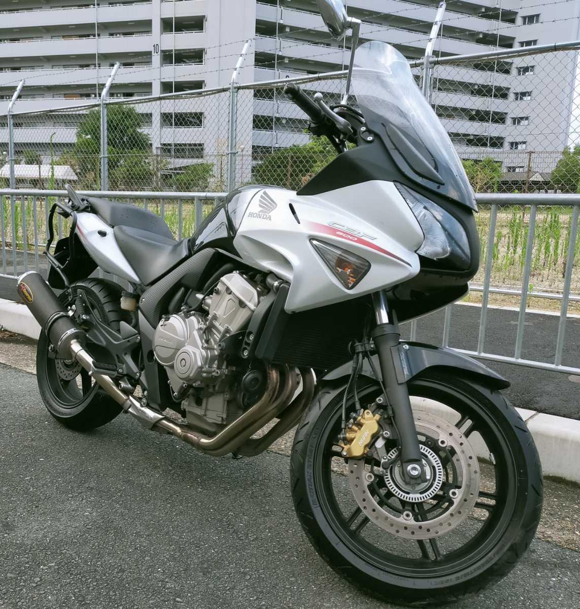「即決で送料込CBF600S ABS.ETC 検)CBR600RRエンジン搭載 ホーネット600 gsx-s ninja cb600r mt cbr600f z」の画像3